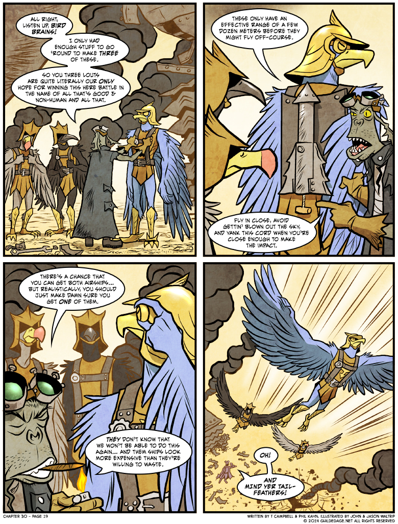 IED chicken: it's airship-bustin' good!