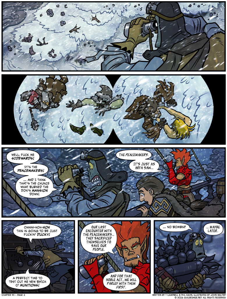 *Ed. Note: See Guilded Age Volume 0.5, 'Payet Best - The Art Of Single Handedly Crushing A Goblin Mafia Uprising'!