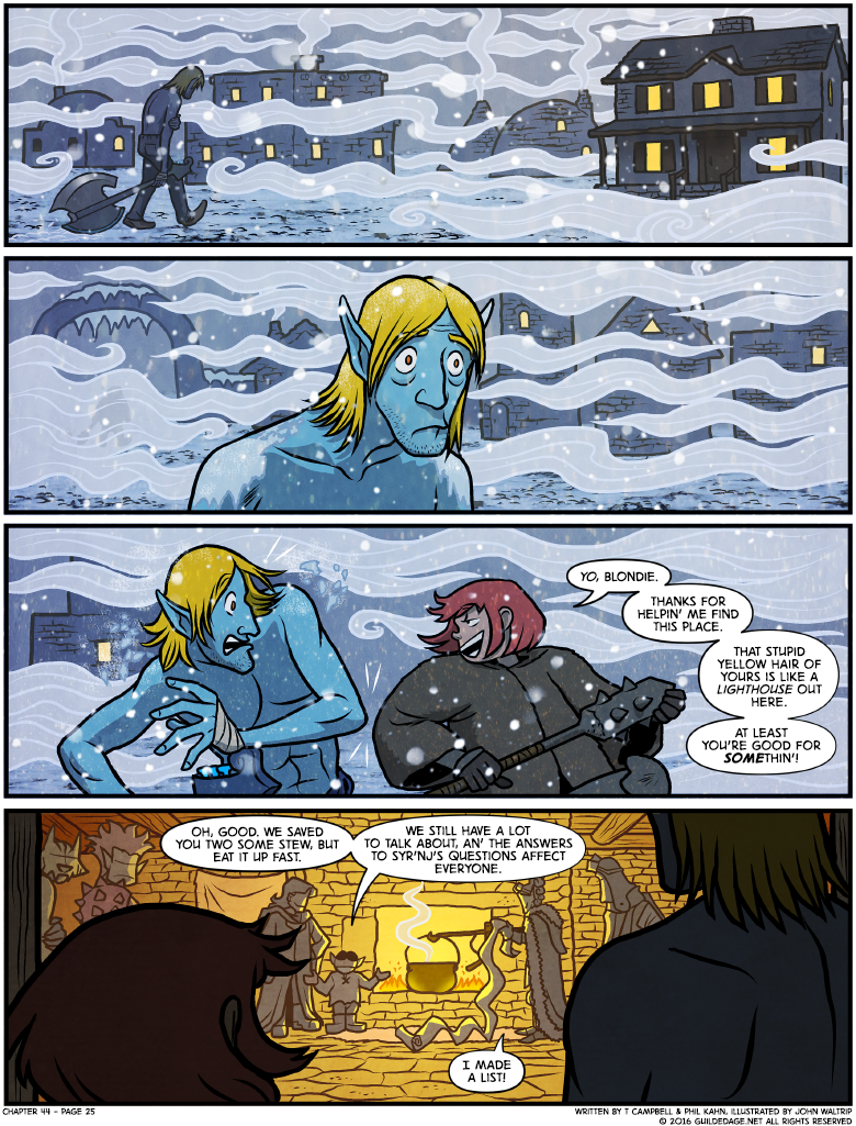 This is where we find out he was a Frost Giant all along!