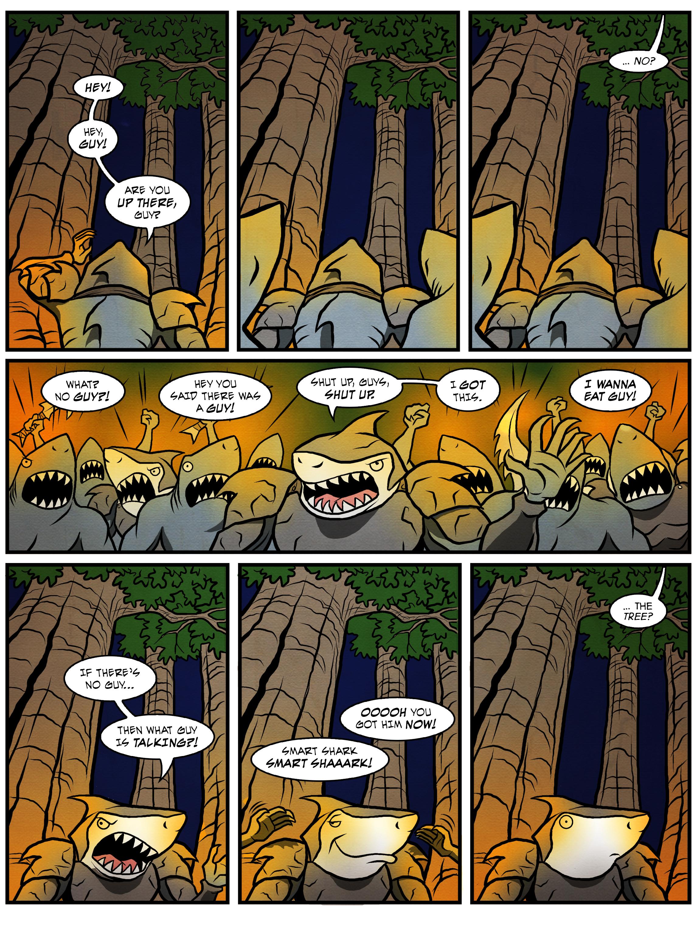 Alternate ending: 'I am Groot?'