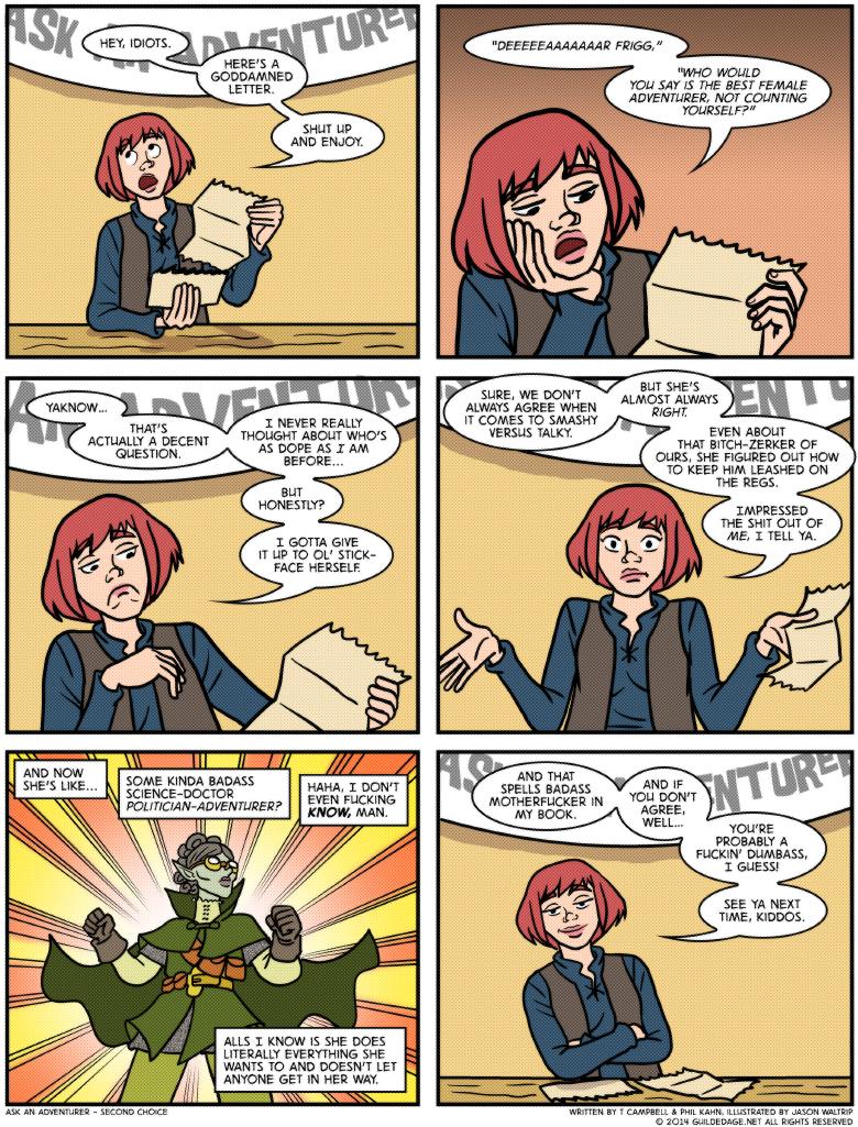 I'd've said She-Hulk.